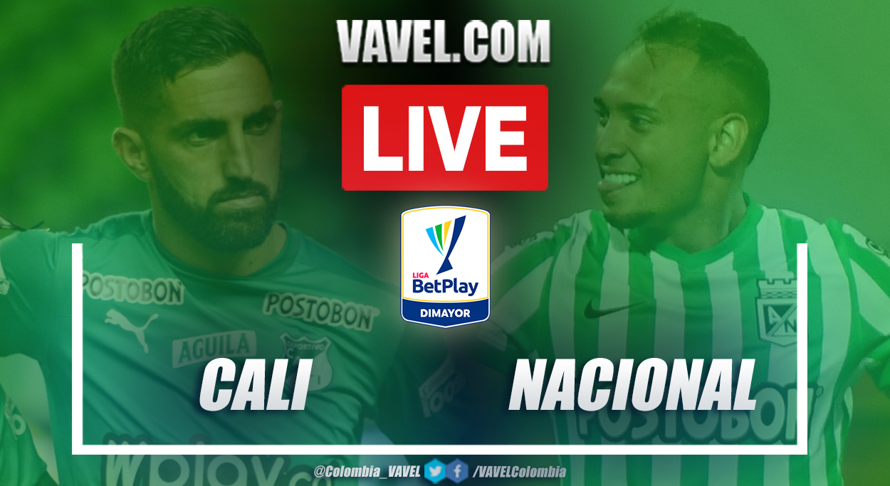 Resumen Cali vs Nacional (1-0) en la fecha 18 por Liga BetPlay 2021-I