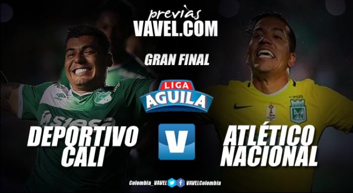 Previa Deportivo Cali Vs Atlético Nacional: Duelo de 'verdes' por la estrella