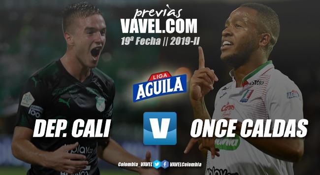 Previa Deportivo Cali vs. Once Caldas: lucha por la clasificación