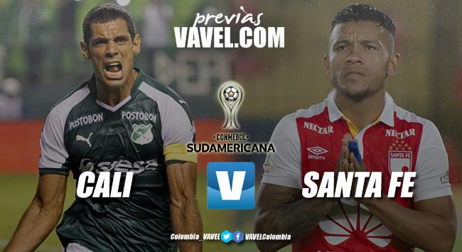 Previa Cali vs Santa Fe: definición del primer semifinalista de la Copa Sudamericana