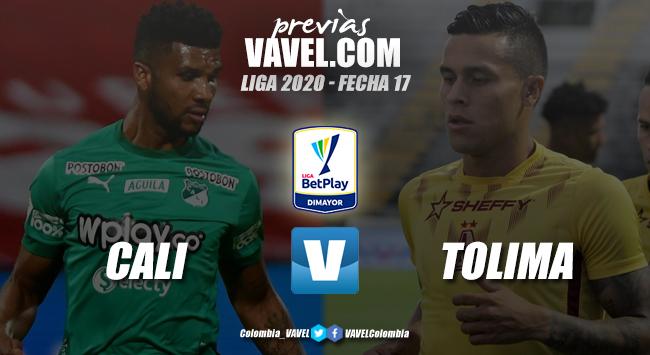 Previa Deportivo Cali vs Deportes Tolima: duelo de equipos en la punta