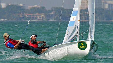 Argentina - Yachting: bronce para Calabrese y De la Fuente