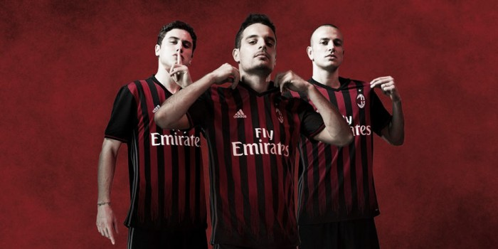 Com 'volta às origens', Milan divulga novo uniforme para temporada 2016/17