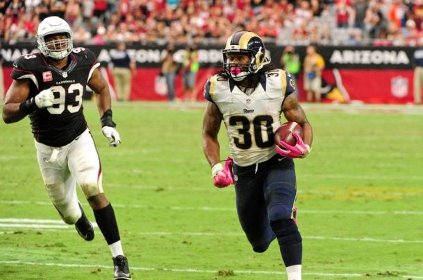 VAVEL USA NFL Rookie Of The Week: St. Louis Rams Running Back Todd Gurley