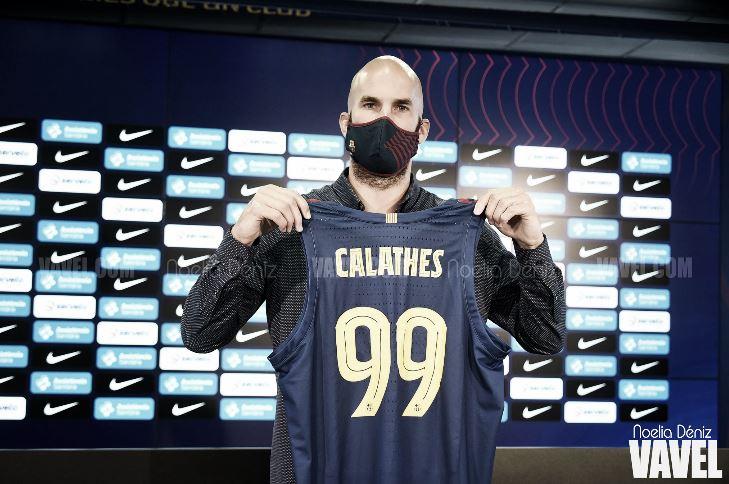 """Calathes: """"Espero que podamos hacer que este equipo sea el mejor de Europa"""""""