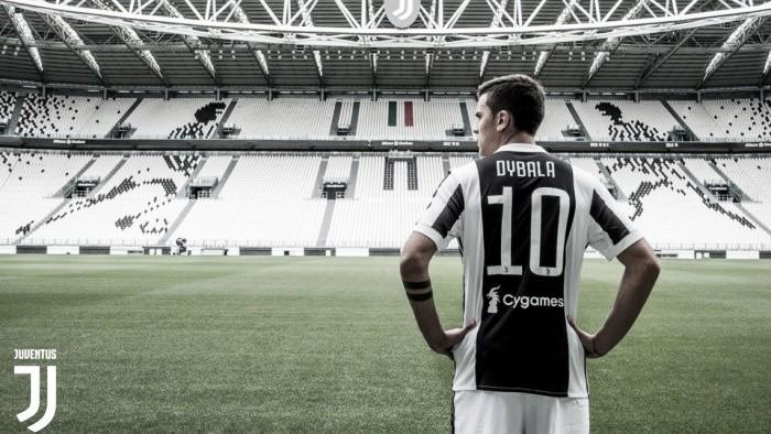 """Dybala usará la """"10"""" de la Juventus"""