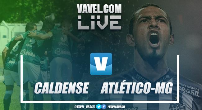 Resultado Caldense 0 x 1 Atlético-MG pelo Campeonato Mineiro