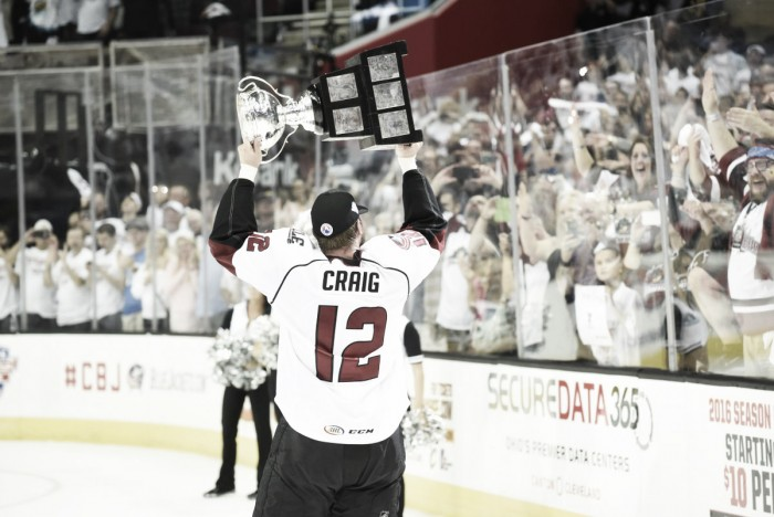 Lake Erie Monsters defeat Hershey Bears for 2016 Calder Cup