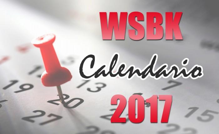 Calendario del Mundial de SBK 2017