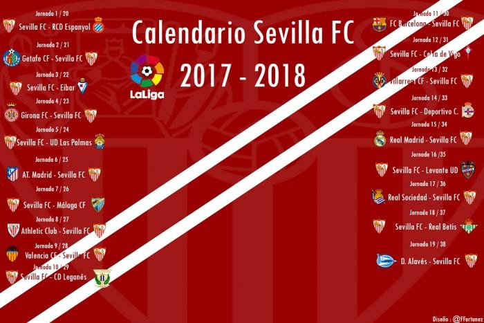 Calendario Sevilla Fc 2020.Este Sera El Calendario De Liga Del Sevilla Fc Vavel Com
