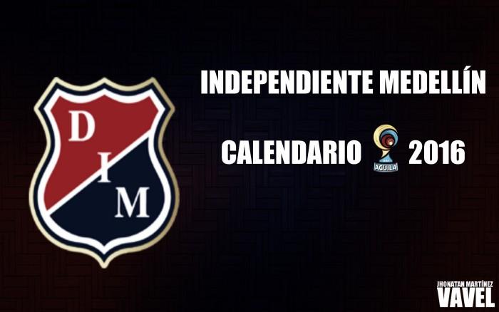 Medellín ya conoce su calendario para la Liga Águila 2016-I