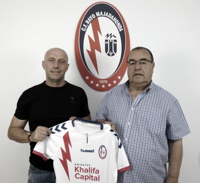 Julián Calero, nuevo entrenador del CF Rayo Majadahonda