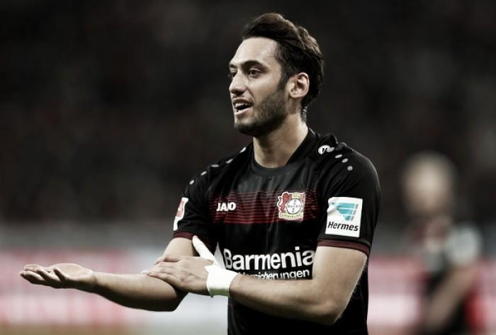 Milan, nuovo nome per il centrocampo. Rossoneri forti su Calhanoglu del Bayer Leverkusen