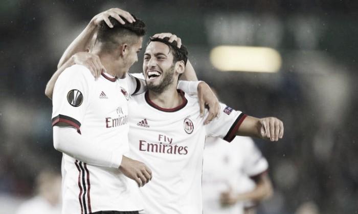 Europa League: il Milan annienta l'Austria Vienna. E' 1-5 per i rossoneri al ritorno in Europa