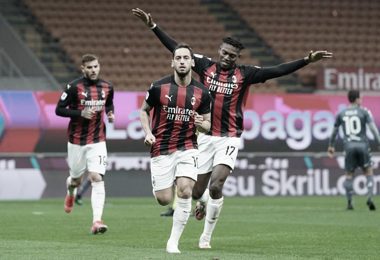 Milan vence Benevento em casa e segue firme na briga por vaga na Champions League