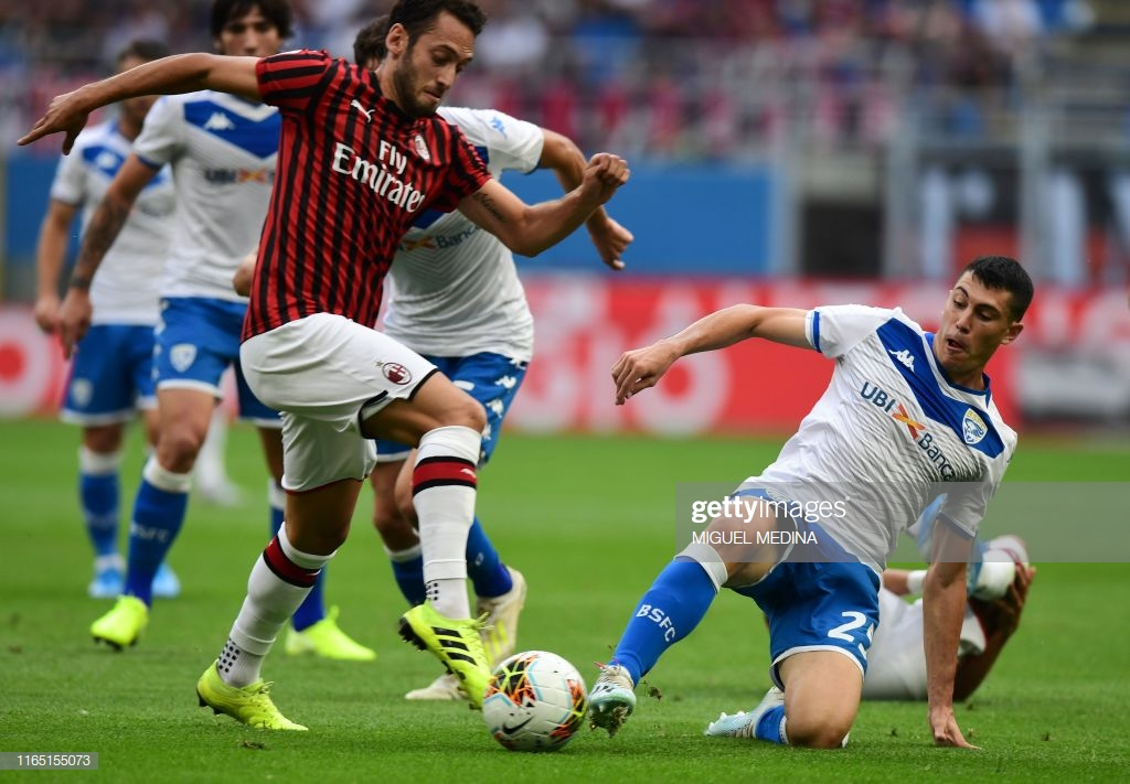 Milan 1-0 Brescia: Rossoneri victorious at home