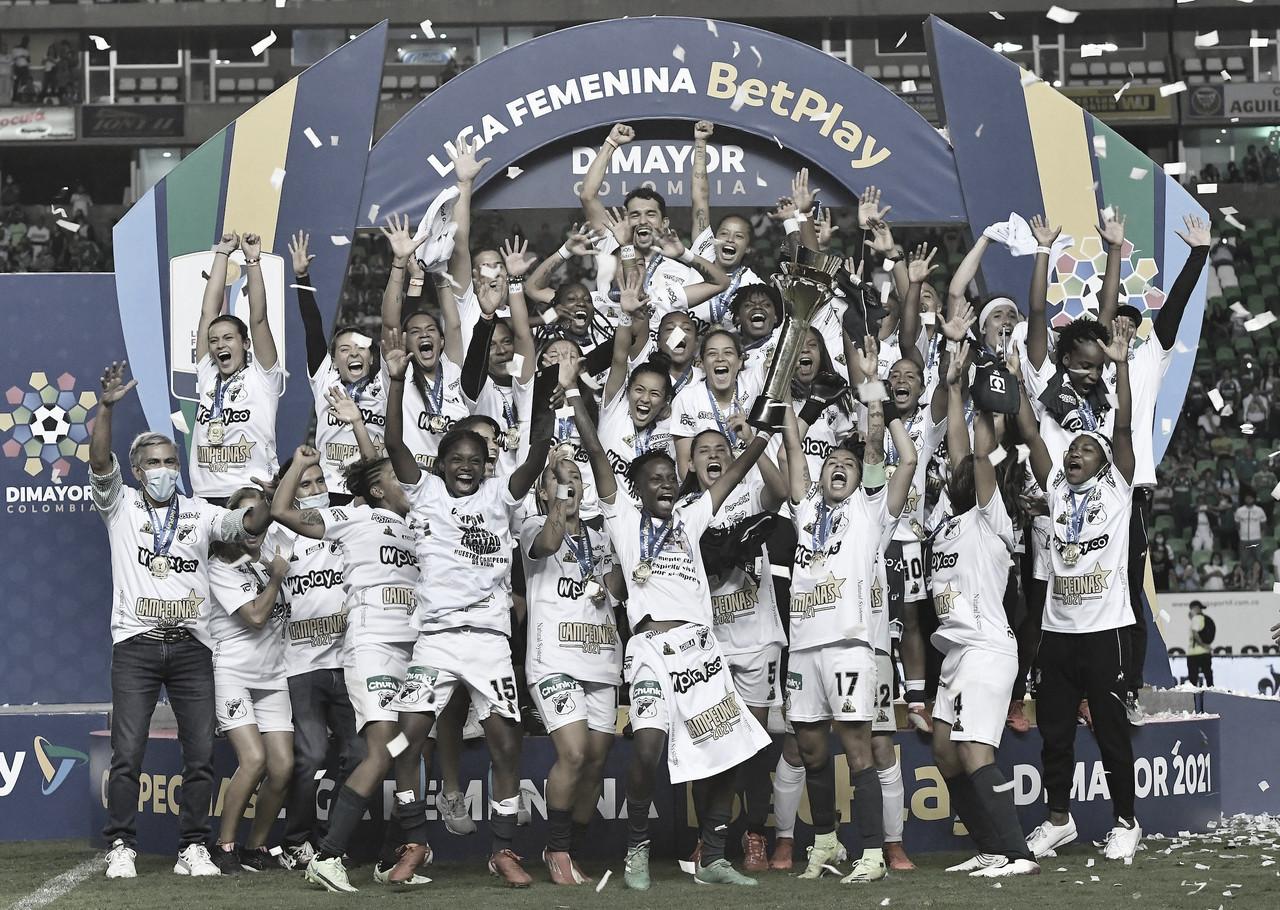 En una 'Linda noche', Deportivo Cali se coronó campeón de la Liga Femenina 2021