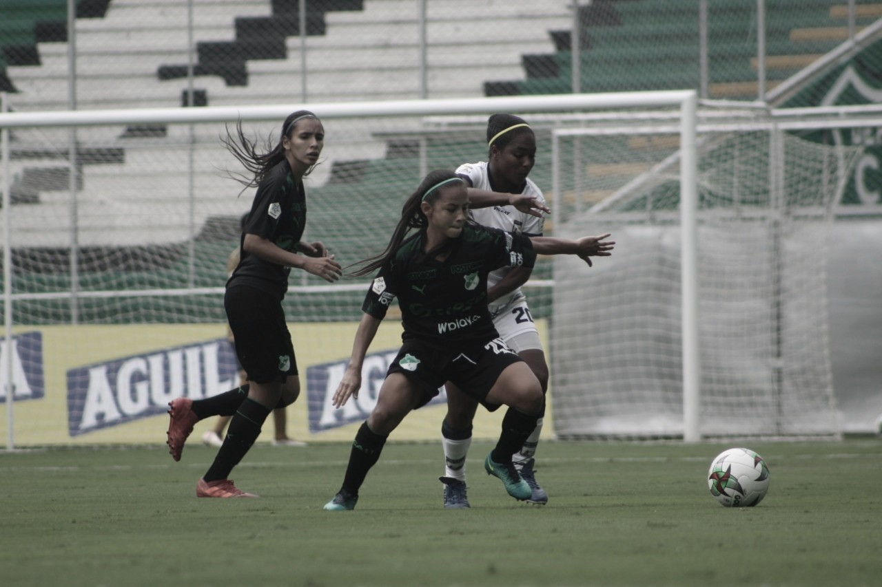 Deportivo Cali se despidió de la Liga Femenina goleando al Atlético