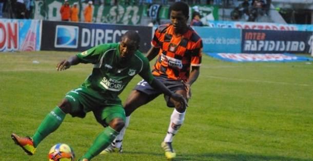 Resultado Deportivo Cali - Boyacá Chicó por la Liga Postobón 2013 (1-1)