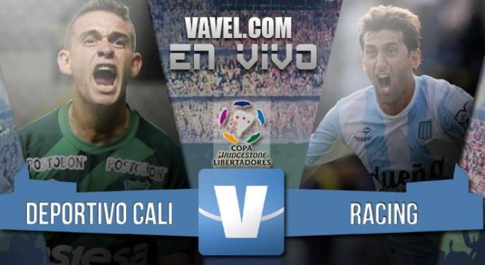 Resultado Deportivo Cali 2-2 Racing Club por Libertadores 2016