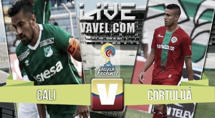 Resultado Deportivo Cali vs Cortuluá en Liga Águila 2016 (3-1)