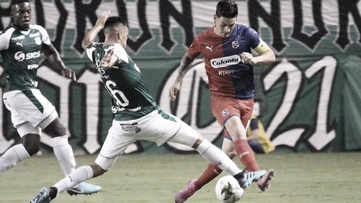 Puntuaciones en Independiente Medellín tras la derrota frtente a Deportivo Cali