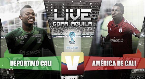 Resultado Deportivo Cali vs América de Cali en vivo online (2-0)
