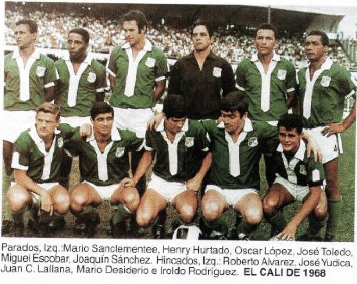 Se cumplen 48 años del debut del Cali en la Libertadores