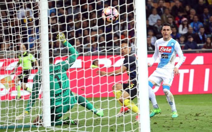 Il Napoli sbanca San Siro, per l'Inter è notte fonda