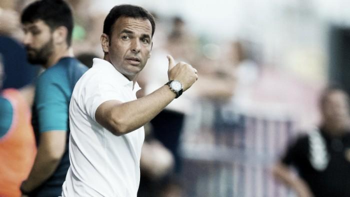 """Javier Calleja: """"Hemos hecho un gran partido"""""""