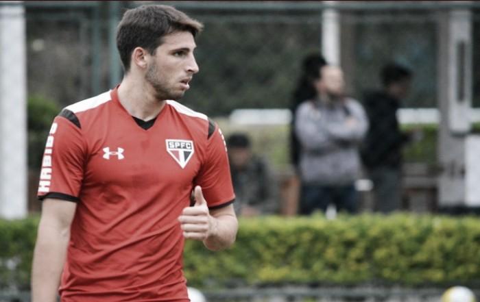 """Visando """"decisão"""" pela Libertadores, Calleri retorna aos treinos no São Paulo"""