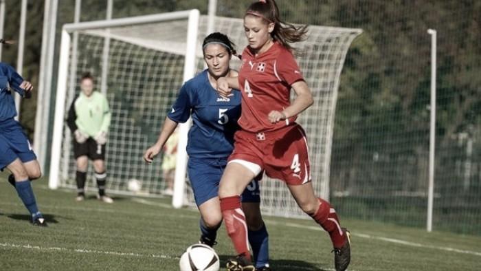 Atlético de Madrid acerta com meio campista suíça Viola Calligaris