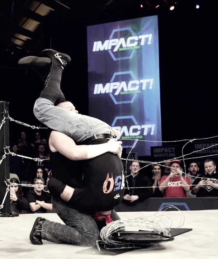 Impact vuelve a decepcionar con un combate por el título y otro no emitido