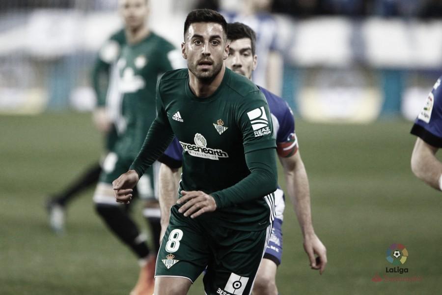 La despedida de Víctor Camarasa del Real Betis