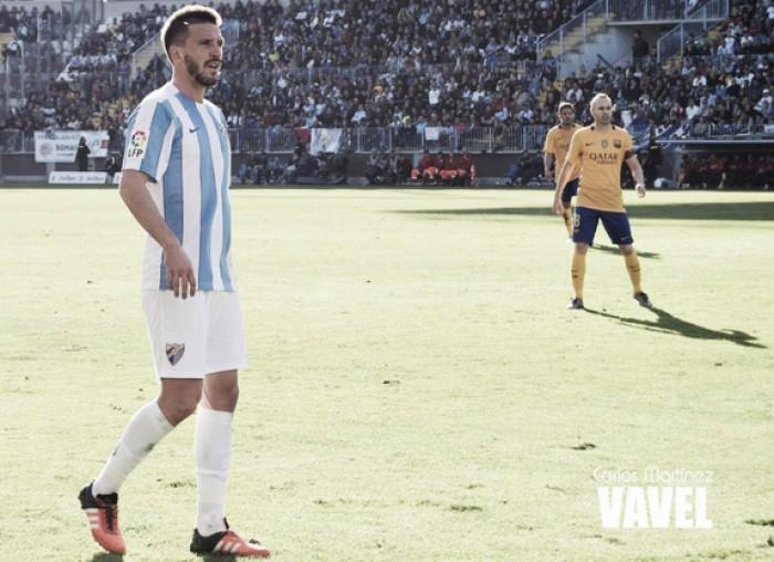 """Camacho: """"Quiero cumplir los 200 partidos con el Málaga"""""""