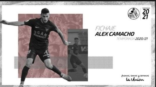 Alex Camacho. Foto: Salamanca CF