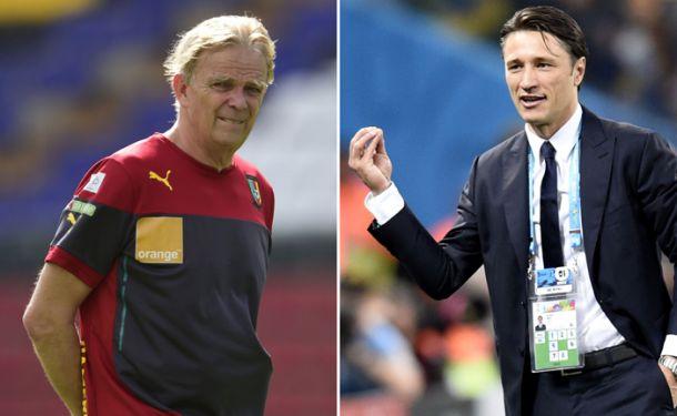 """Kovac: """"Non mi va di sminuire il nostro successo, ottimo lavoro"""". Finke: """"Una vergogna"""""""