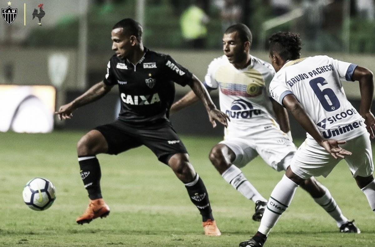 Atlético-MG pressiona, mas empata sem gols com Chapecoense na Copa do Brasil
