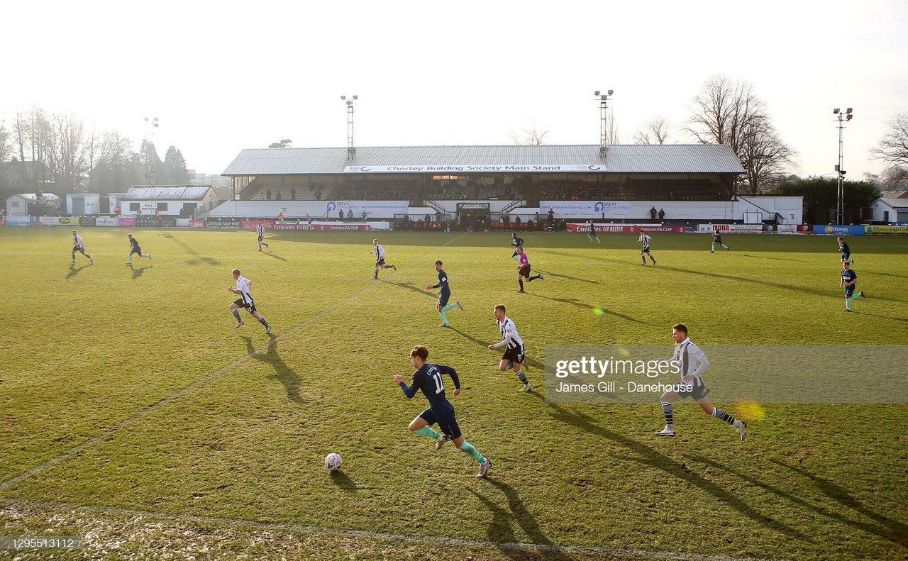 Although Wolves have played Chorley before, they have never visited the 4,300 capacity Victory Park. (Photo by James Gill - Danehouse/Getty Images)