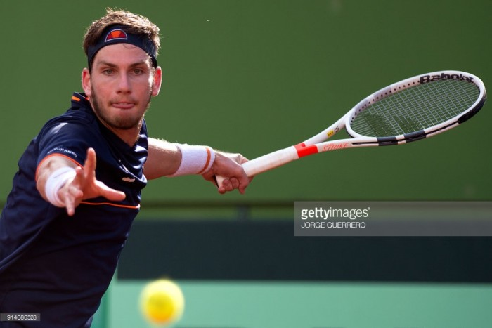 Great Britain lose to Spain after Cameron Norrie is beaten in four sets by Albert Ramos-Vinolas