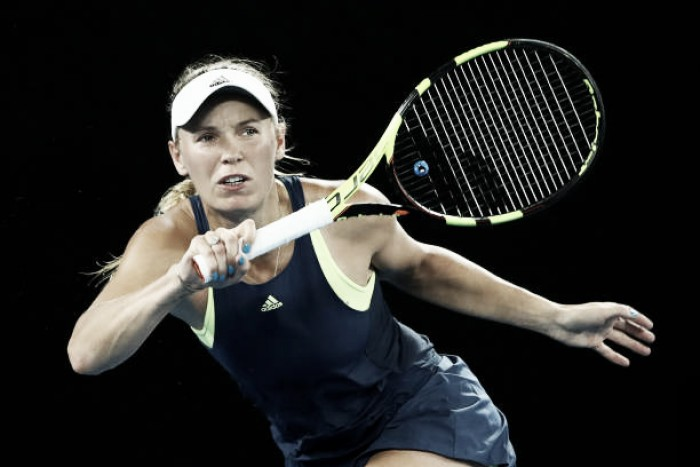 Australian Open: Caroline Wozniacki reaches the second week