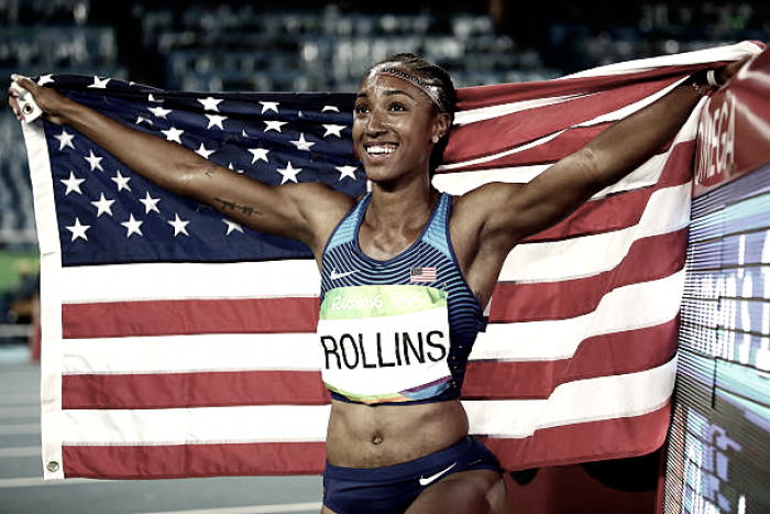 Olympic champion Rollins banned for missing drug tests