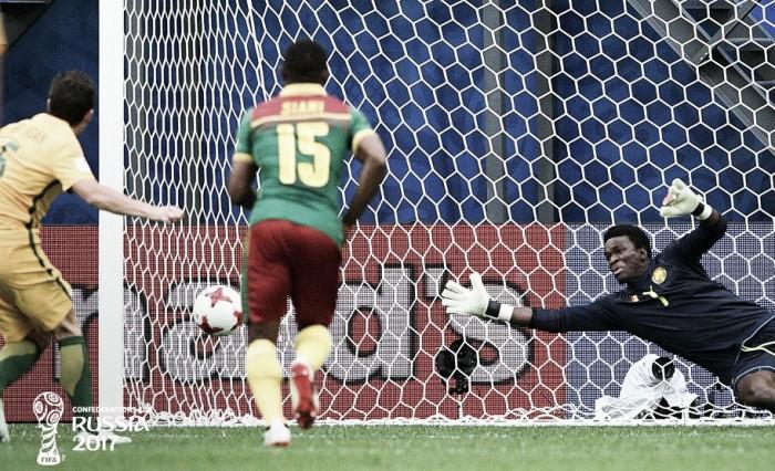 Confederations Cup 2017, 1-1 tra Australia e Camerun: Milligan di rigore risponde ad Anguissa