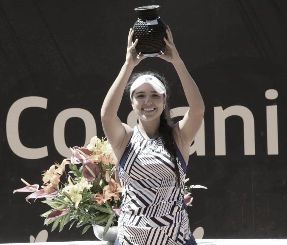 Primer título para María Osorio