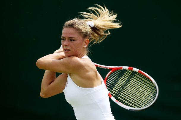Wimbledon, avanza solo Camila Giorgi