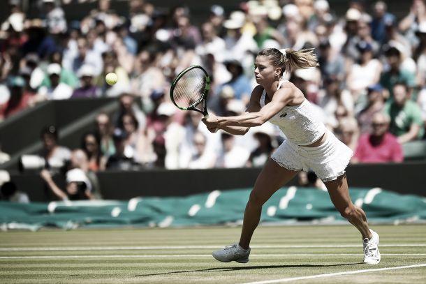 Wimbledon 2015: Camila non fa e disfa, la Wozniacki ringrazia