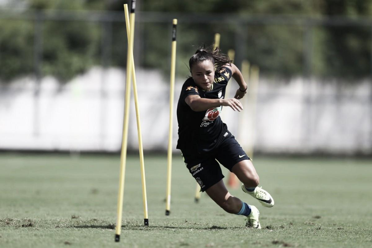 Recuperada de lesão no joelho, Camilinha volta a ser convocada para Seleção