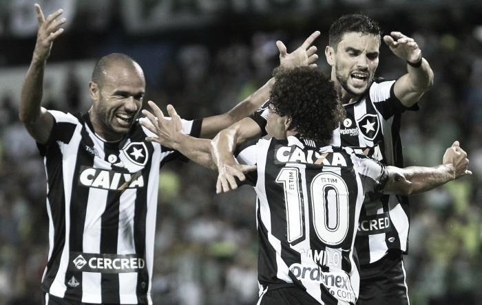Botafogo quebra tabu e vence Atlético Nacional pela Libertadores