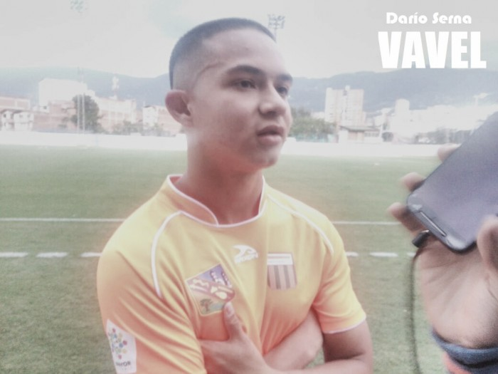 """Camilo Velásquez: """"Soñé con mi gol por mucho tiempo"""""""