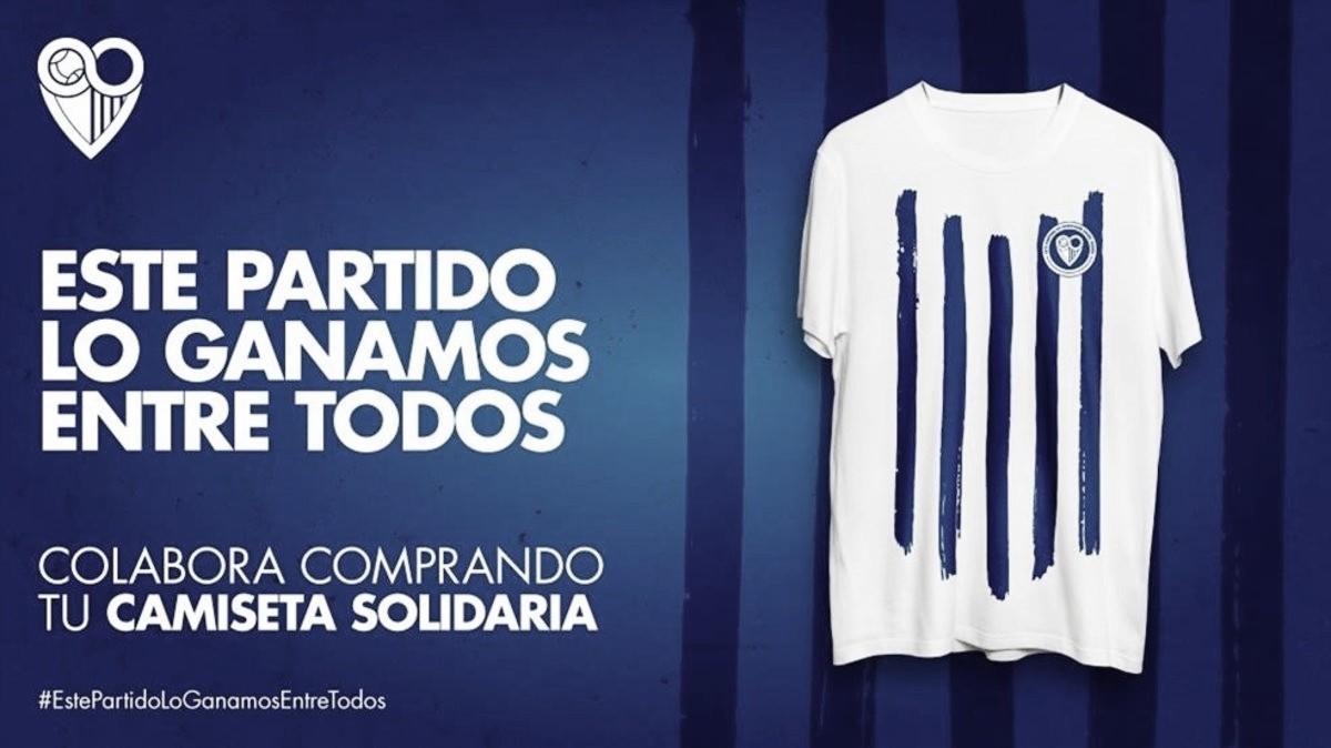 La camiseta solidaria duplica sus ventas en toda España